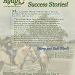 Horses: Waelti Horse Farm Success Story